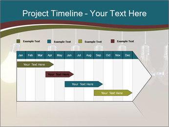 Light bulbs PowerPoint Template - Slide 25