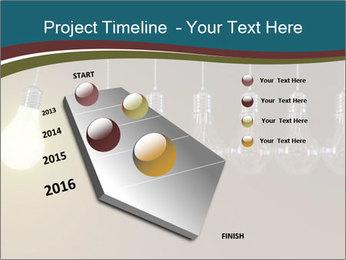 Light bulbs PowerPoint Template - Slide 26
