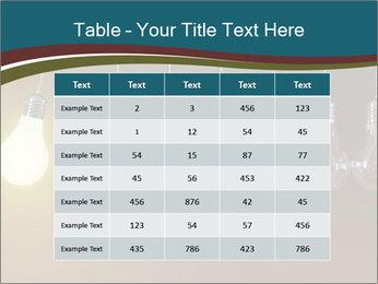Light bulbs PowerPoint Template - Slide 55