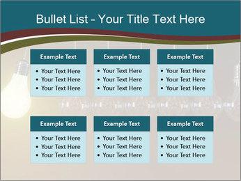 Light bulbs PowerPoint Template - Slide 56