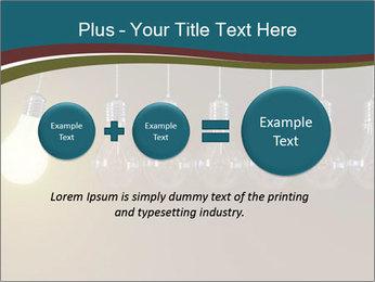 Light bulbs PowerPoint Template - Slide 75