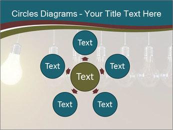 Light bulbs PowerPoint Template - Slide 78