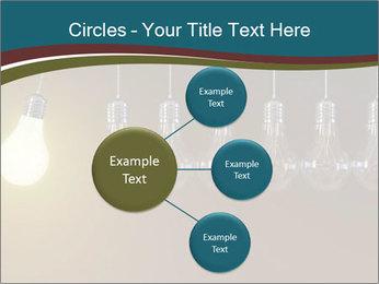 Light bulbs PowerPoint Template - Slide 79