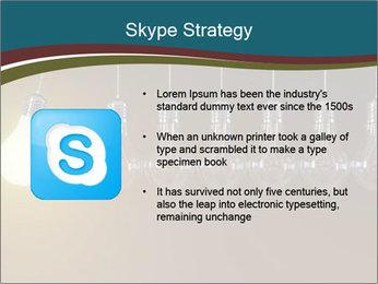 Light bulbs PowerPoint Template - Slide 8