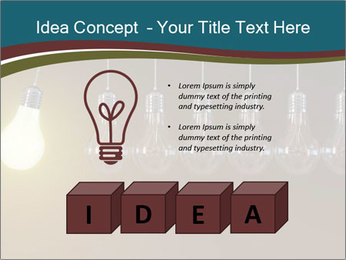Light bulbs PowerPoint Template - Slide 80