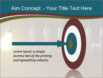 Light bulbs PowerPoint Template - Slide 83