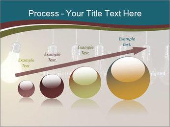 Light bulbs PowerPoint Template - Slide 87