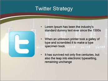 Light bulbs PowerPoint Template - Slide 9