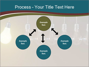 Light bulbs PowerPoint Template - Slide 91