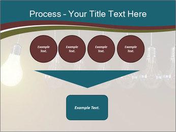 Light bulbs PowerPoint Template - Slide 93