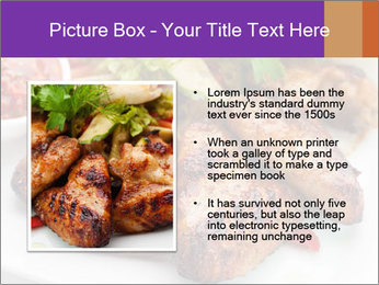 Hot Meat Dishes PowerPoint Template - Slide 13