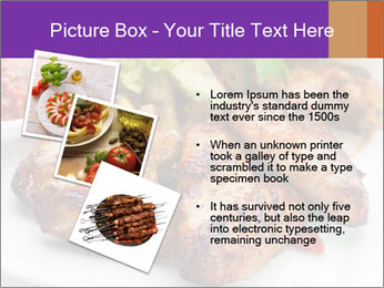 Hot Meat Dishes PowerPoint Template - Slide 17
