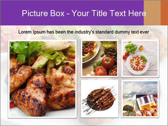 Hot Meat Dishes PowerPoint Template - Slide 19