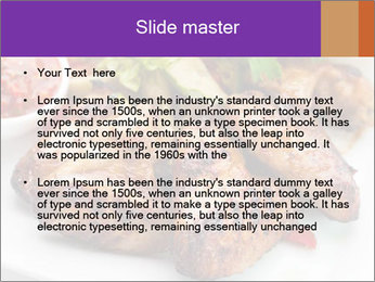 Hot Meat Dishes PowerPoint Template - Slide 2