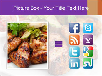 Hot Meat Dishes PowerPoint Template - Slide 21