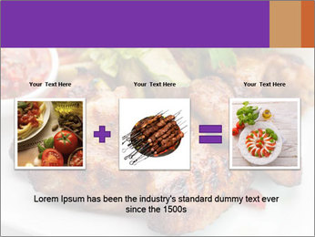 Hot Meat Dishes PowerPoint Template - Slide 22