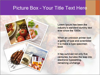 Hot Meat Dishes PowerPoint Template - Slide 23