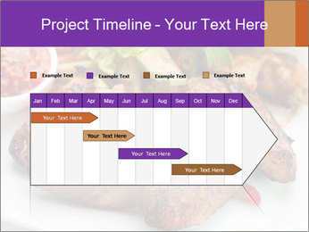 Hot Meat Dishes PowerPoint Template - Slide 25