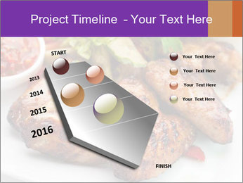 Hot Meat Dishes PowerPoint Template - Slide 26