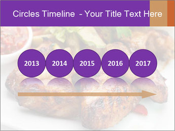 Hot Meat Dishes PowerPoint Template - Slide 29