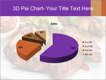 Hot Meat Dishes PowerPoint Template - Slide 35
