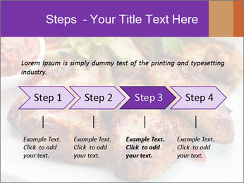 Hot Meat Dishes PowerPoint Template - Slide 4