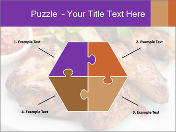 Hot Meat Dishes PowerPoint Template - Slide 40