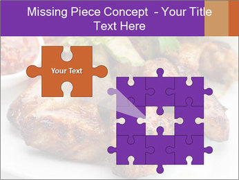 Hot Meat Dishes PowerPoint Template - Slide 45