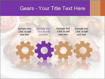 Hot Meat Dishes PowerPoint Template - Slide 48