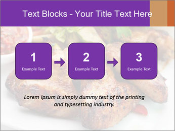 Hot Meat Dishes PowerPoint Template - Slide 71