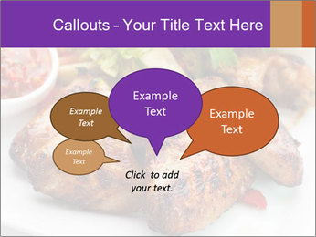 Hot Meat Dishes PowerPoint Template - Slide 73
