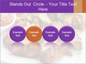 Hot Meat Dishes PowerPoint Template - Slide 76
