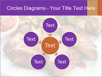 Hot Meat Dishes PowerPoint Template - Slide 78