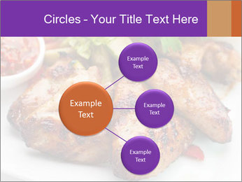Hot Meat Dishes PowerPoint Template - Slide 79