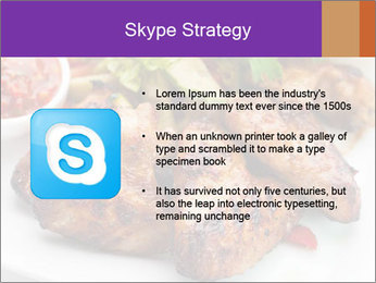Hot Meat Dishes PowerPoint Template - Slide 8