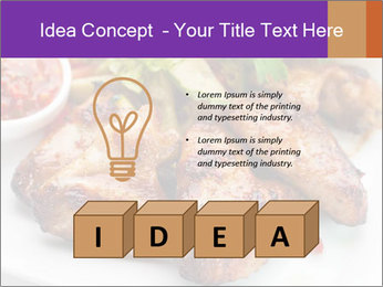 Hot Meat Dishes PowerPoint Template - Slide 80