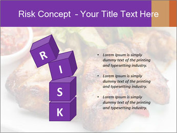 Hot Meat Dishes PowerPoint Template - Slide 81