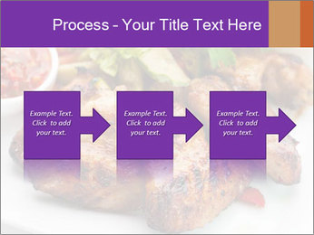 Hot Meat Dishes PowerPoint Template - Slide 88