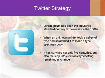 Hot Meat Dishes PowerPoint Template - Slide 9