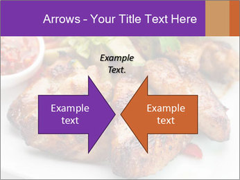 Hot Meat Dishes PowerPoint Template - Slide 90