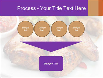 Hot Meat Dishes PowerPoint Template - Slide 93