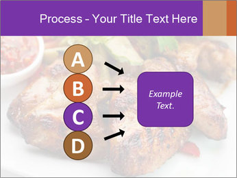 Hot Meat Dishes PowerPoint Template - Slide 94