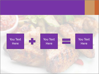 Hot Meat Dishes PowerPoint Template - Slide 95