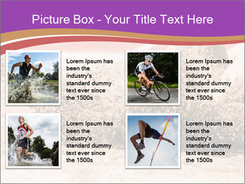 Landing in long jump PowerPoint Template - Slide 14