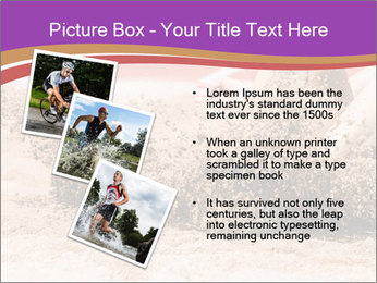 Landing in long jump PowerPoint Template - Slide 17