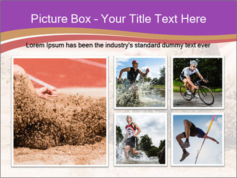 Landing in long jump PowerPoint Template - Slide 19