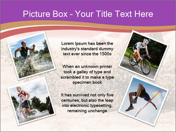 Landing in long jump PowerPoint Template - Slide 24