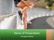 Knee injury PowerPoint Templates