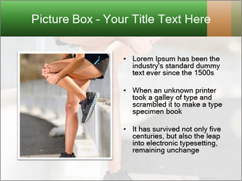 Knee injury PowerPoint Template - Slide 13