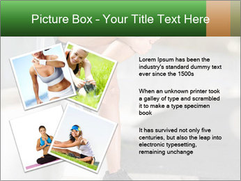 Knee injury PowerPoint Template - Slide 23